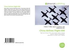 Bookcover of China Airlines Flight 006