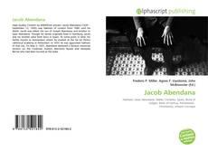 Bookcover of Jacob Abendana