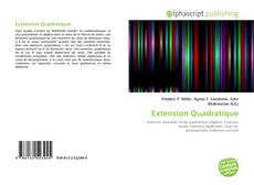 Couverture de Extension Quadratique