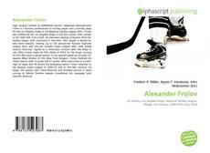 Bookcover of Alexander Frolov