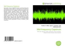 Borítókép a  Mel-frequency Cepstrum - hoz