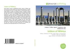 Couverture de Isidore of Miletus