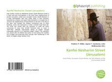 Buchcover von Kanfei Nesharim Street (Jerusalem)