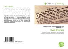 Bookcover of Livre d'Esther