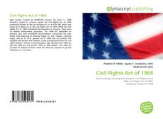 Portada del libro de Civil Rights Act of 1968