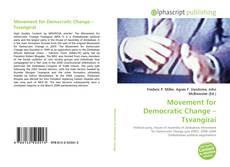 Bookcover of Movement for Democratic Change – Tsvangirai