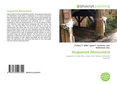 Bookcover of Huguenot Monument
