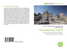 Bookcover of Neo-Babylonian Empire