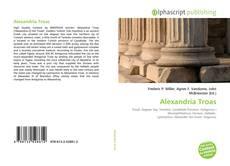 Portada del libro de Alexandria Troas