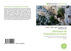 Historique de l'Imposition en France的封面