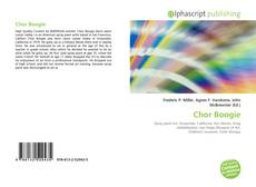 Bookcover of Chor Boogie