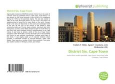Bookcover of District Six, Cape Town