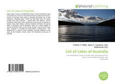 Copertina di List of Lakes of Australia