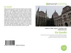 Capa do livro de Ela Gandhi