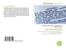 Bookcover of Luc (Evangéliste)