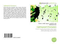 Couverture de Lightspeed Champion