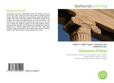 Bookcover of Achaeans (Tribe)