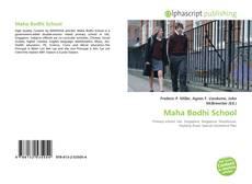 Bookcover of Maha Bodhi School