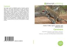 Bookcover of Carnivore