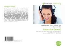 Bookcover of Intonation (Music)