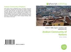 Bookcover of Andean Community of Nations