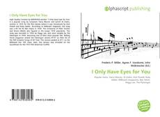 Buchcover von I Only Have Eyes for You