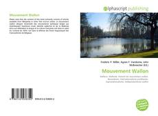 Capa do livro de Mouvement Wallon