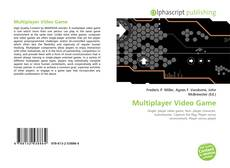 Bookcover of Multiplayer Video Game