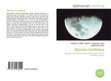 Bookcover of Montes Cordillera