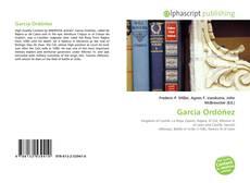 García Ordóñez的封面