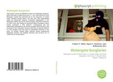 Buchcover von Watergate burglaries