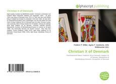 Christian X of Denmark的封面