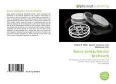 Burns Verkaufen der Kraftwerk的封面