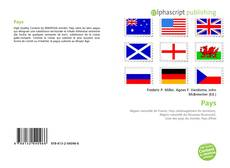 Bookcover of Pays