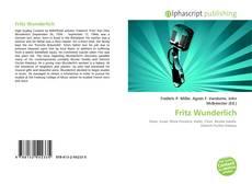 Buchcover von Fritz Wunderlich