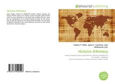 Bookcover of Histoire d'Annecy