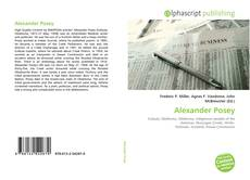Bookcover of Alexander Posey