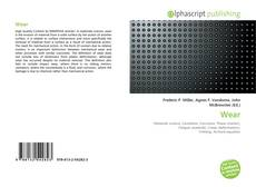Bookcover of Wear