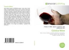 Bookcover of Corsica Wine