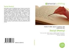 Bookcover of Dactyl (Poetry)