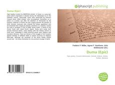 Couverture de Duma (Epic)