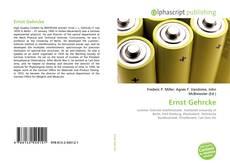 Buchcover von Ernst Gehrcke