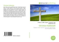 Bookcover of Christian Kabbalah