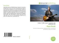 Buchcover von Post-Punk
