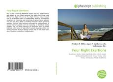 Four Right Exertions kitap kapağı