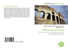 Bookcover of Marcus Annius Verus