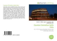 Bookcover of Faustus Cornelius Sulla Felix