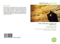 Обложка Fritz Busch