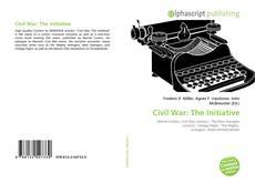 Обложка Civil War: The Initiative