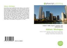 Capa do livro de Albion, Michigan